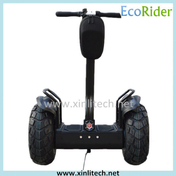 Outdoor Black Self Balancing Scooters Free Standing CE Certification 36 Voltage