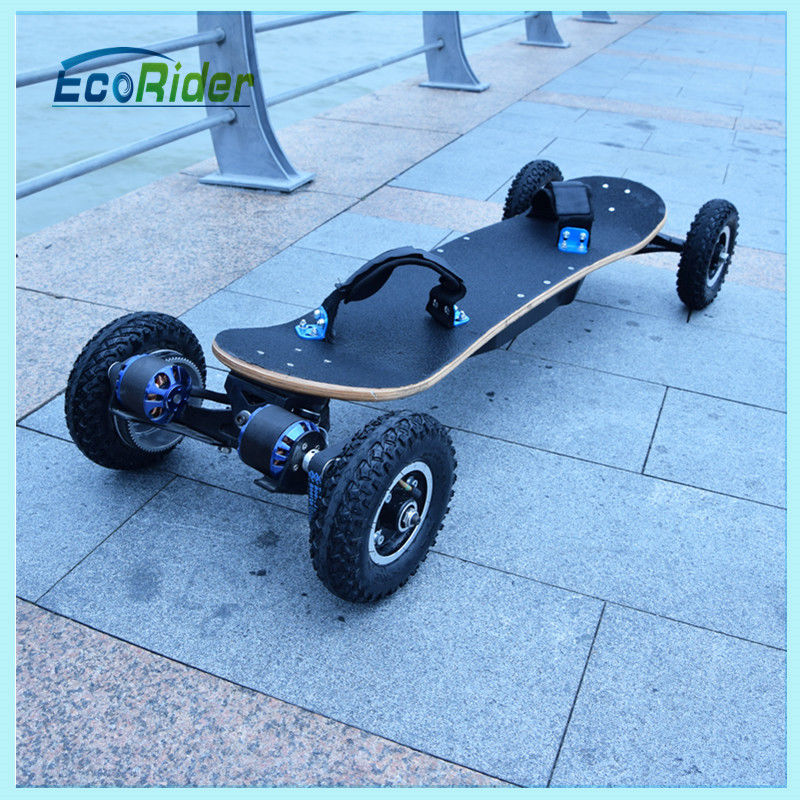 Two Brushless Motor 4 Wheel Skateboard portable electric powered skateboard