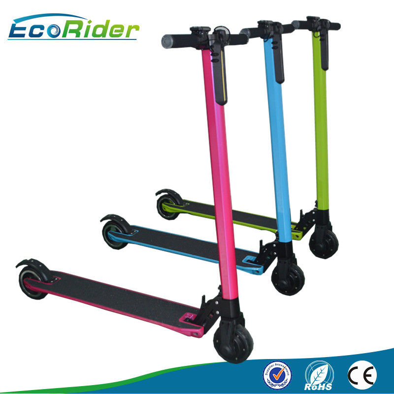350W Folding Kick Scooter , Electric Foot Scooters For Adults