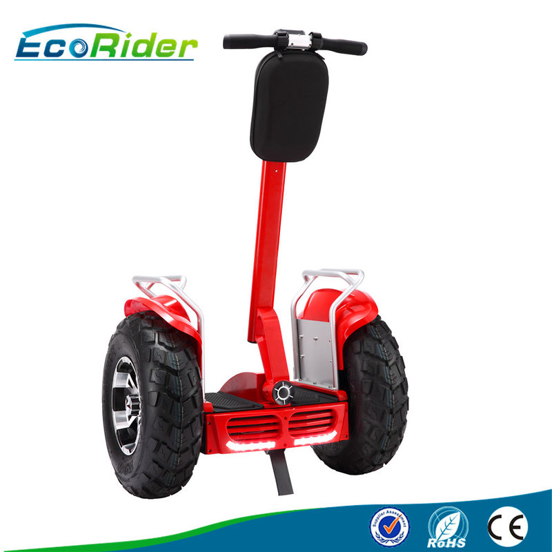 Off Road Electric Balance Scooter , Electric Segway Scooter With 4000W Brushless Motor