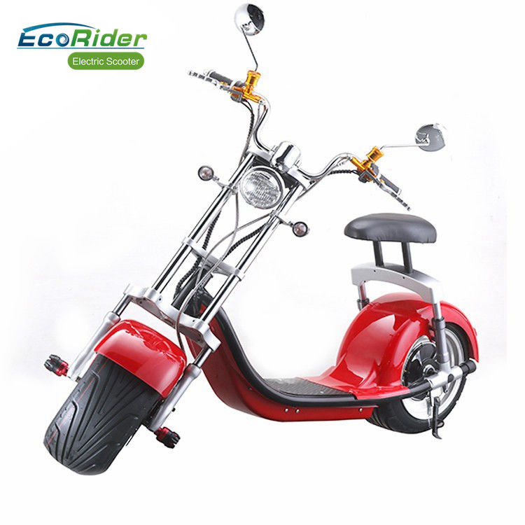 Motorized Lightweight Caiqiees Two Wheel Electric Scooter Citycoco 5h Charging Time